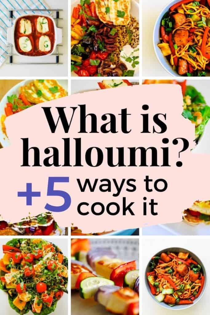Halloumi is delicious when you cook it right - so learn how to cook halloumi 5 ways!